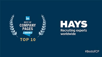 Hays Best Company Page on LinkedIn