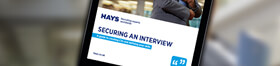 Securing an interview guide