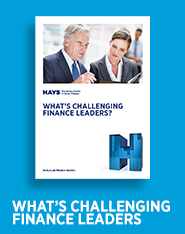 What's Challenging Finance Leaders?