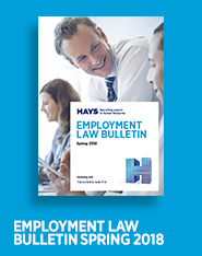 Employment Law Bulletin Spring 2018