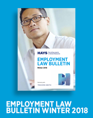 Employment Law Bulletin Winter 2018