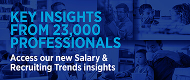 Access our new Salary & Recruiting Trends Insights