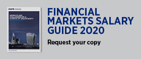 Financial Markets Salary Guide 2020