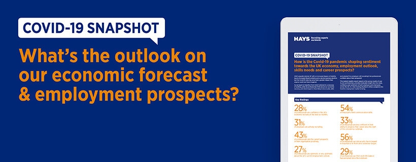 What's the outlook on our economic forecast & employment prospects?