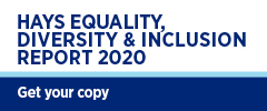 Hays Equality, Diversity & Inclusion Report 2020